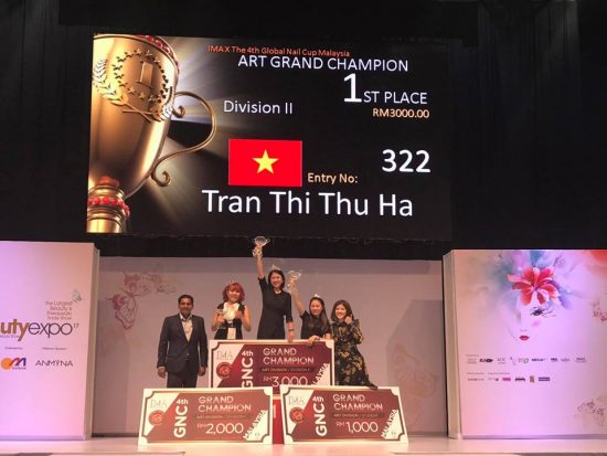 Nail Nhã Tường – Vương miện toàn năng đầu tiên dành cho Việt Nam